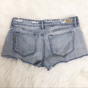 PAIGE Shorts - Paige Distressed Jean Shorts Size 27